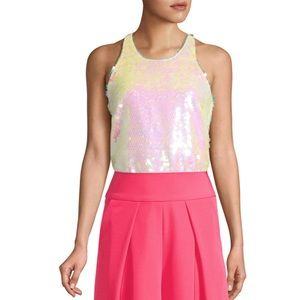 Milly Sequin Top
